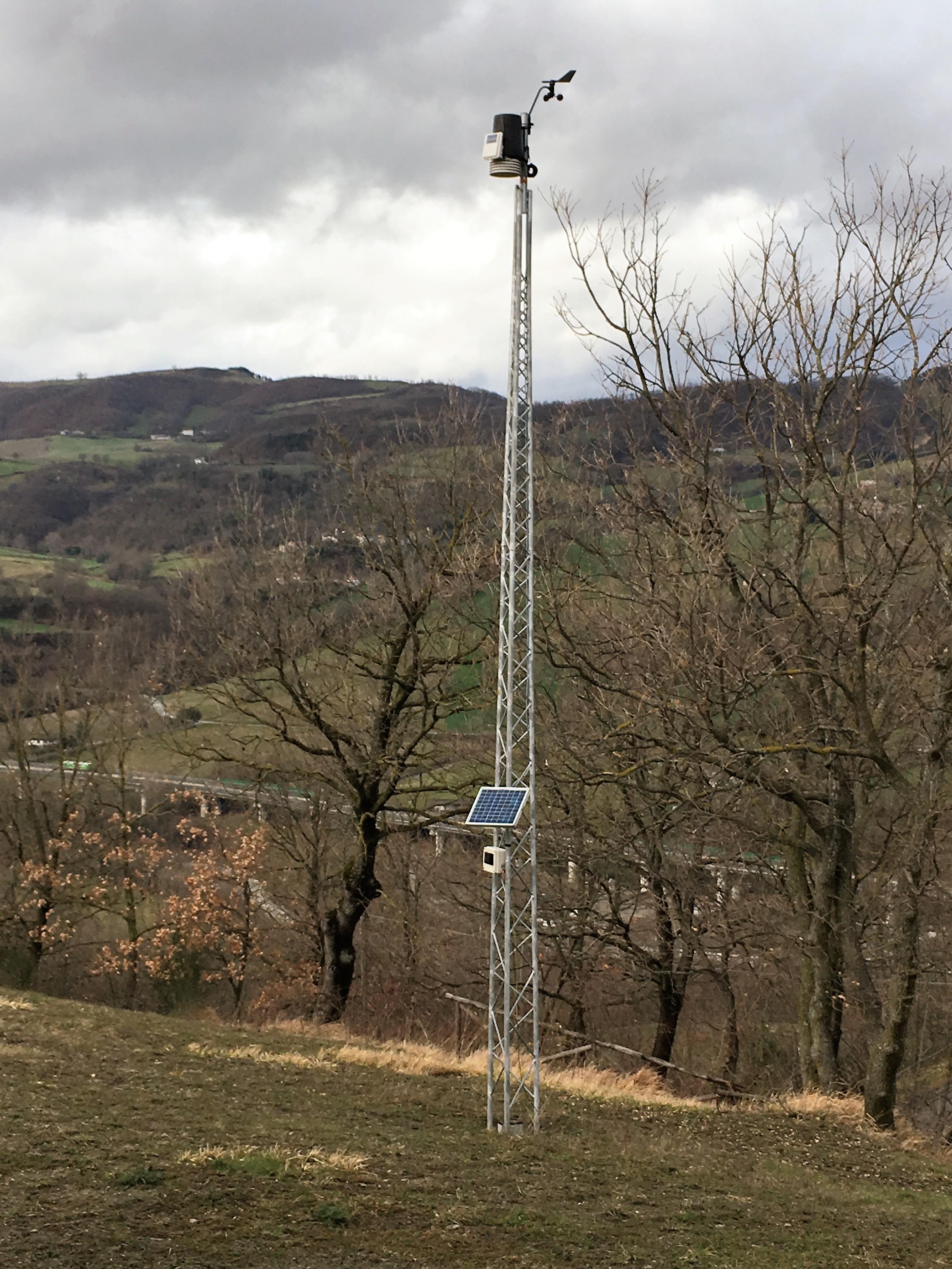 Caratteristiche stazione meteo di san piero in bagno - Meteo it bagno di romagna ...