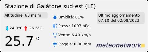 Stazione meteo di Galatone